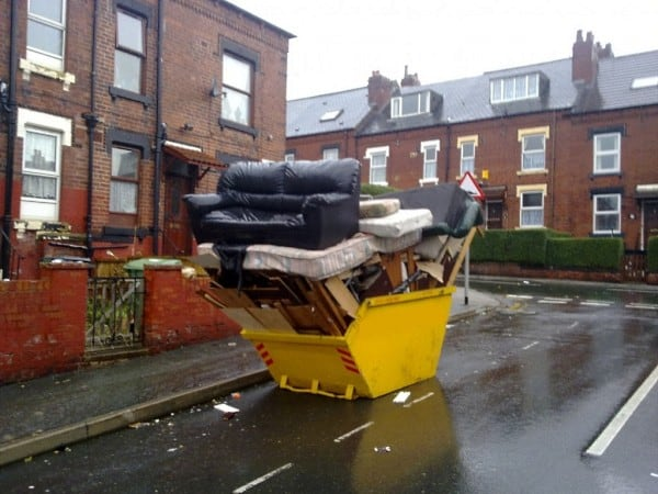 No Need To Hire A Skip